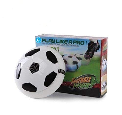 lalli sales indoor football sport toys the ultimate soccer game, with multi lighting feature -magic hover football toy indoor play game best toy for kid- Multi color