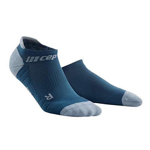 CEP – NO SHOW SOCKS 3.0 für Herren | Kurze Sportsocken für dein Workout in blau / grau | Größe III