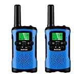Kids Walkie Talkies Toys for Boys Girls, Walky Talky for Kids 5-10 Years Old(2 Pack Blue)