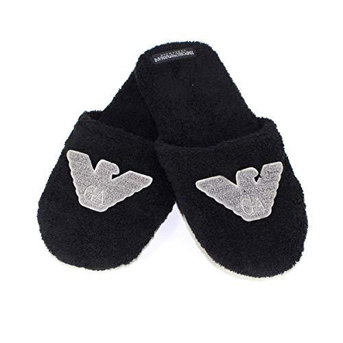 Emporio Armani Schuhe Hausschuhe Pantoffeln Mann Herren Sponge Slippers Artikel 111747 9A591
