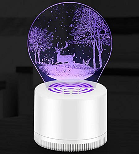 Night Light Usb Electric Mosquito Repellent Lamp Suction Type Mosquito Killer
