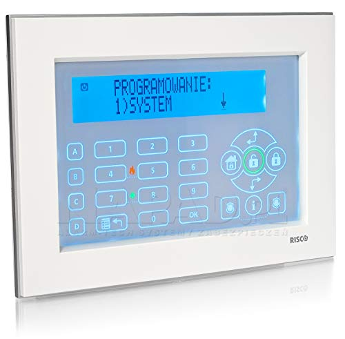 RP128KP0200A Risco Rokonet Alarmsysteem Alarm Huis Touchscreen Wit