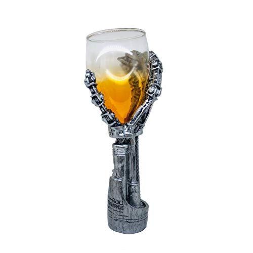 ZKGHJOKZ Whiskyglas New Scotch Creative Double Wall Whiskyglas Beste kwaliteit Winetaster Rum Xo Chivas Regal Drink Whiskey Wine Cup