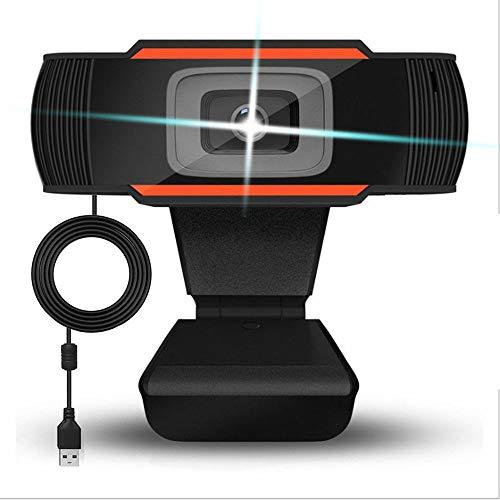 FONCBIEN Webcam 1080P Full HD con Microphone per PC Regolabile Web Cameras Auto Focus&Widescreen Live Streaming Webcam per Calling Online-insegnamento Conferenza (1080P)