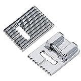 Prensatelas Tucker adecuado para máquinas de coser domésticas multifunción 5/7/9 ranuras