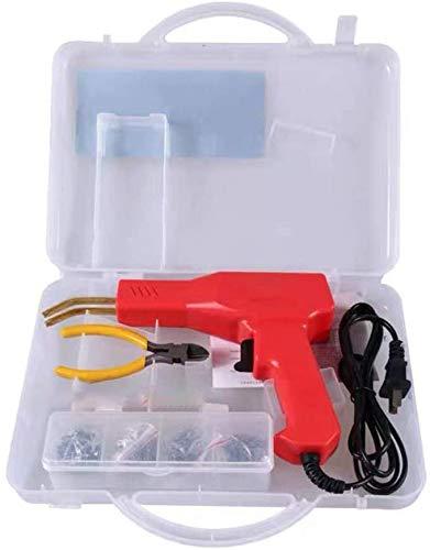50w Hot Stapler, Plastic Welding Machine Car Bumper Repair Kit, Plier, Flat/Outside Corner/Inside Corner/Wave Staples, Welding Repairing Machine Welder Gun Repair