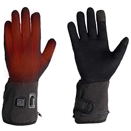 Venture Heat 12V Motorcycle Heated Glove Liner, Built in Controller - 7 Watt, Hand Warming Riding Gear, MC1664 (M/L)