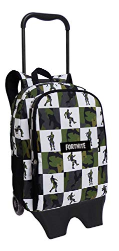 Fortnite Mochila con Trolley Tipo Casual, 43 cm, Estampado