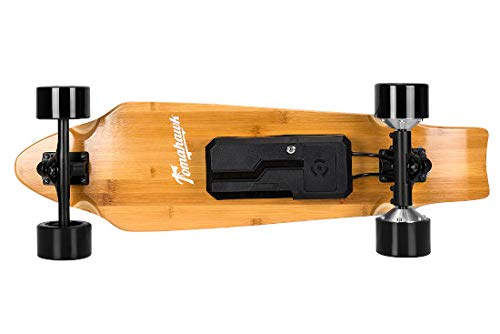 Skateboard electrico Tomahawk Wind. Madera de Arce. Lija en Color Azul y...
