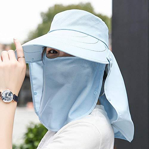 Ga-yinuo Sombrero de Mujer Sombrero de protección Solar Sombrero de Sol Bicicleta...