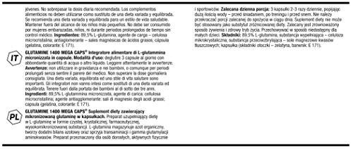 Olimp L-Glutamine Mega Caps, 300 Kapseln, (1 x 469.5 g) - 4