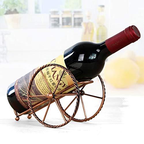XGQ Estante Creativo Europeo del Vino del Metal decoración de Hierro Forjado del Vino por un Sola Botella de Vino Inicio decoración Interior Crafts