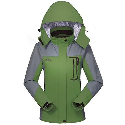 MICKYMIN Waterproof Jacket Rain Coats for Women Outdoor Hiking Travel Windproof Jackets