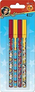 Wonder Woman Stick Pens - Set of 4