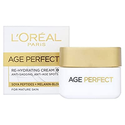 L'Oreal Age Perfect Rehydrating Anti Ageing Day Cream, Face Cream for Mature Skin 50 ml