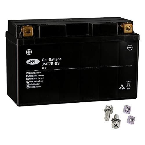 YT7B-BS Gel Batterie für DR-Z 400 SM Baujahr 2005-2008 von JMT