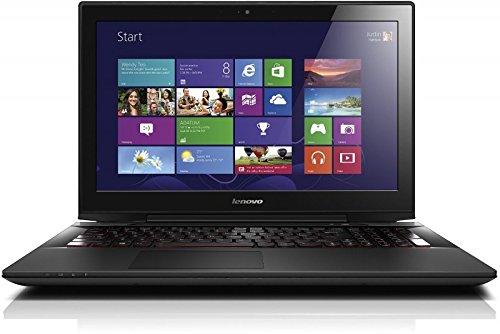 Lenovo Y50-70 39,6 cm (15,6 Zoll Full HD IPS) Gaming Laptop (Intel Core i7-4720HQ Quad-Core Prozessor, 3,6GHz, 8GB RAM, 256GB SSD, NVIDIA GeForce GTX 960M, kein Betriebssystem) schwarz