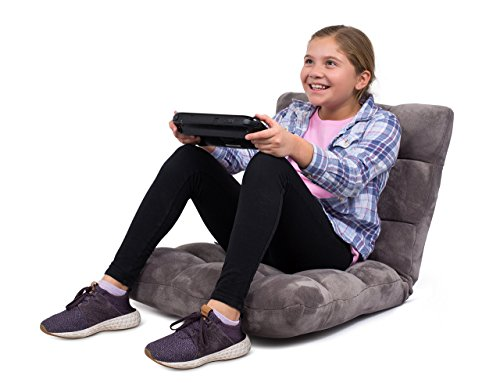 BIRDROCK HOME Adjustable 14-Position Memory Foam Floor Chair - Pillow Gaming Chair - Comfortable...