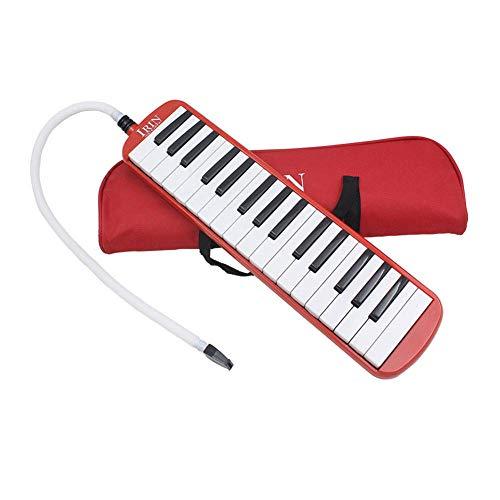 Tragbare Melodica Student Class Mundharmonika mit 32 Tasten und Tasche