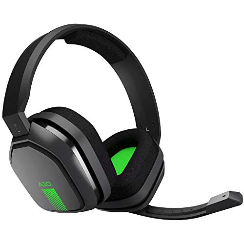 ASTRO Gaming A10-Headset, kompatibel mit Xbox One, PlayStation 4, PC, Mac, Schwarz / Grün (Generalüberholt)