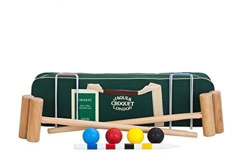 Jaques of London Sussex Croquet set - Adult Size Canvas Case