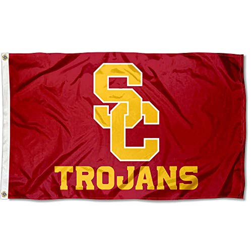 College Flags & Banners Co. USC Trojans SC Logo Flag