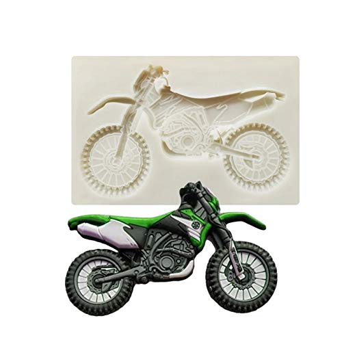 1Pcs Motorrad Spitze Silikonform Kuchenform Kuchen Dekoration WerkzeugSchokoladenform