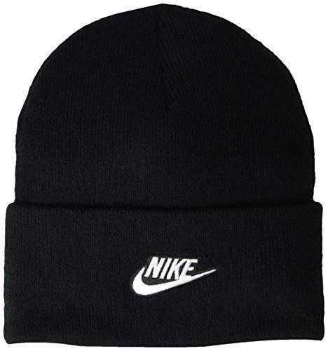 NIKE Sportswear Utility Gorro, Unisex Adulto, Black, Talla Única