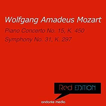 Red Edition - Mozart: Piano Concerto No. 15, K. 450 & Symphony No. 31, K. 297