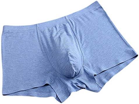 JIUMENG Men's Boxer Briefs Underwear Men's Breathable Comfortable Bamboo Fiber Underwear