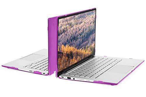 mCover - Carcasa rígida para portátil ASUS Chromebook Flip C434TA Series 2 en 1 de 14 Pulgadas (no Compatible con Otros Chromebooks de ASUS) Morada