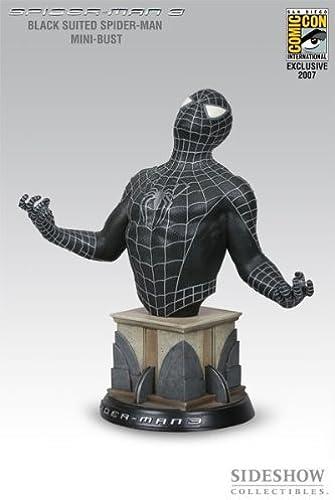 hasta un 60% de descuento Spiderman (negro (negro (negro Suit) Bust From Spiderman 3 by Spider-Man  calidad oficial