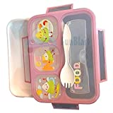 FunBlast Grid Lunch Box for Kids, Leak Proof Lunch Box for School, bento Lunch Box , Available in...