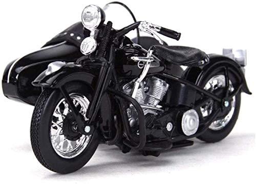 Bck 1/18 Cubo Lateral Cubo de Tres Ruedas Aleación de fundición Estático Motocicleta Modelo Modelo Colección de Regalo Decoración Juguetes Mejor Regalo Juguete Motocicleta Simulación Carrera Coche