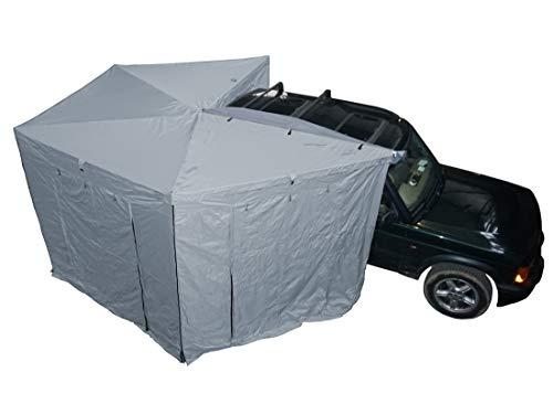 Prime Wing 270 Grad Markise 250cm grau Beifahrerseite komplett mit Seitenteilen