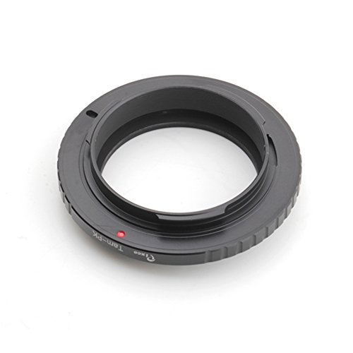 Oumij Lens Mount Adapter Manual Focus Lens Adapter Ring for Pentax PK Mount Lens to Fit for Fuji X-pro1 Series Camera