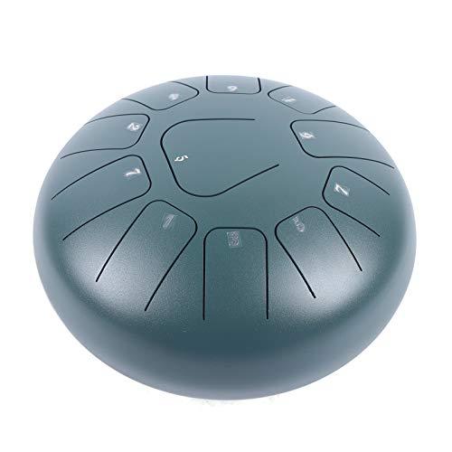 Tambor de lengua de 10 pulgadas, instrumento de percusión con martillo y funda, ideal para yoga zen y meditación