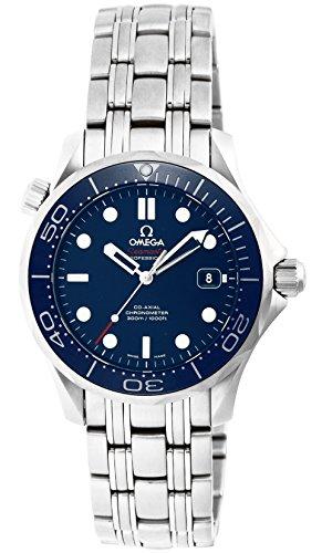 Omega Reloj de Pulsera Unisex analógico automático de Acero Inoxidable 21230362003001