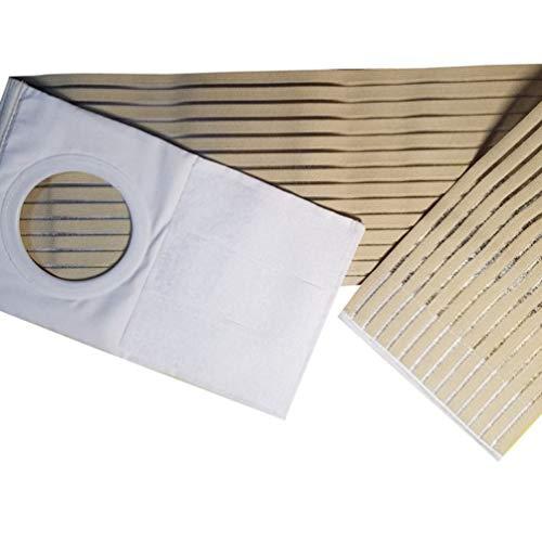 HEALLILY Stomagürtel Elastischer Stoma Gürtel Bandage Nabelbruchband für Ileostomie Stomabeutel Stomastützgürtel Stomaverband Bauchstomaverband für Damen Herren (XL)