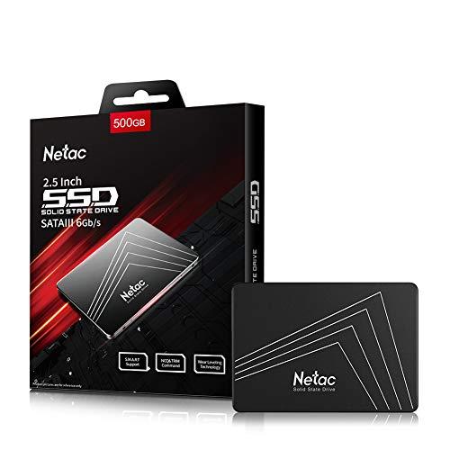 Netac SSD Unità a stato solido interna da 500 GB 512 GB 480 GB SSD SATAIII da 2,5 pollici per computer Notebook PC