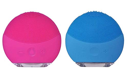 Koko Care™ Silicone Face Cleanser and Exfoliator - Pink (Waterproof)
