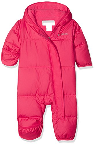 COLHR, COLJF|#Columbia Columbia Snuggly Bunny Bunting Kinder Schneeanzug, Punch Pink, 18/24 Monate, SN0219