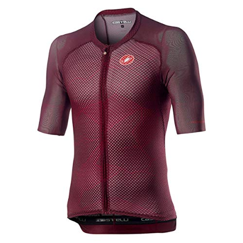 CASTELLI Climber's 3.0 - Camiseta para Hombre, Hombre, Camiseta, 4520012, Sangria, XX-Large