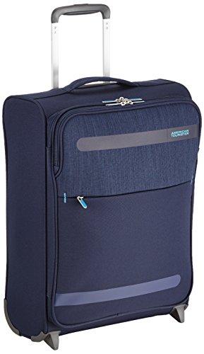 American Tourister Herolite Lifestyle Upright Equipaje de Mano, 55 cm, 41 Litros, Color Azul Marino
