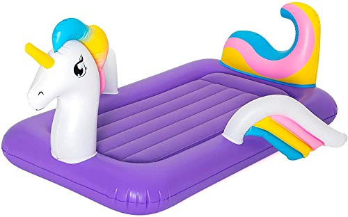 OZARK Kids Unicorn Dreamchaser Kids Airbed Inflatable Air Bed for Kids Girls (Includes Bed and Patch - air Pump NOT Included)