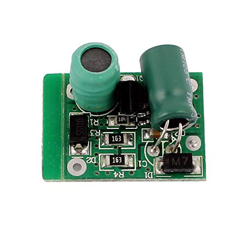 IIVVERR DC12 / 24V a DC24-85V 300mA 5W Boost Step-up LED Módulo de fuente de alimentación del controlador (DC12/24V to DC24-85V 300mA 5W Boost Step-up LED Driver Power Supply...