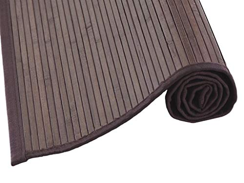 MI CASA Mi Alfombra de Bambu, Marron, 150 x 200 cm