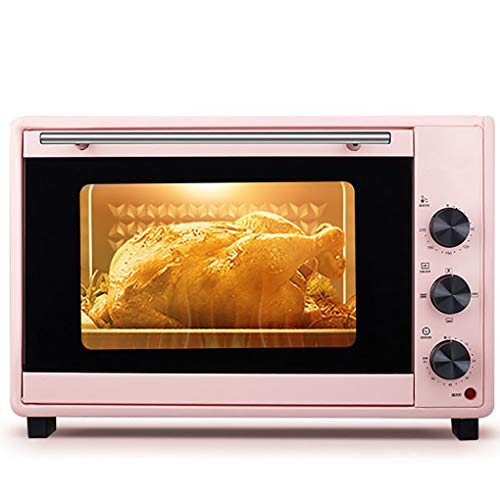 YANG 40L Mini Oven Adjustable Temperature 0-230? and 60 Minutes Timer Five-layer Baking Position Multi-function Electric Oven Baking Cake Bread Pizza