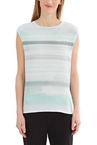ESPRIT Collection 037eo1k006 Camiseta sin Mangas, Verde (Light Aqua Green), 38 (Talla del Fabricante: Medium) para Mujer