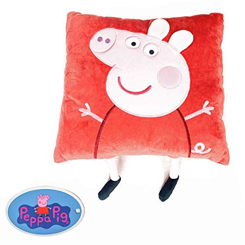 Asditex Cojín con aplicacion Peppa Pig